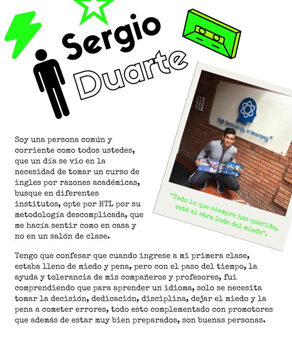 Testimonios Sergio Duarte HTL