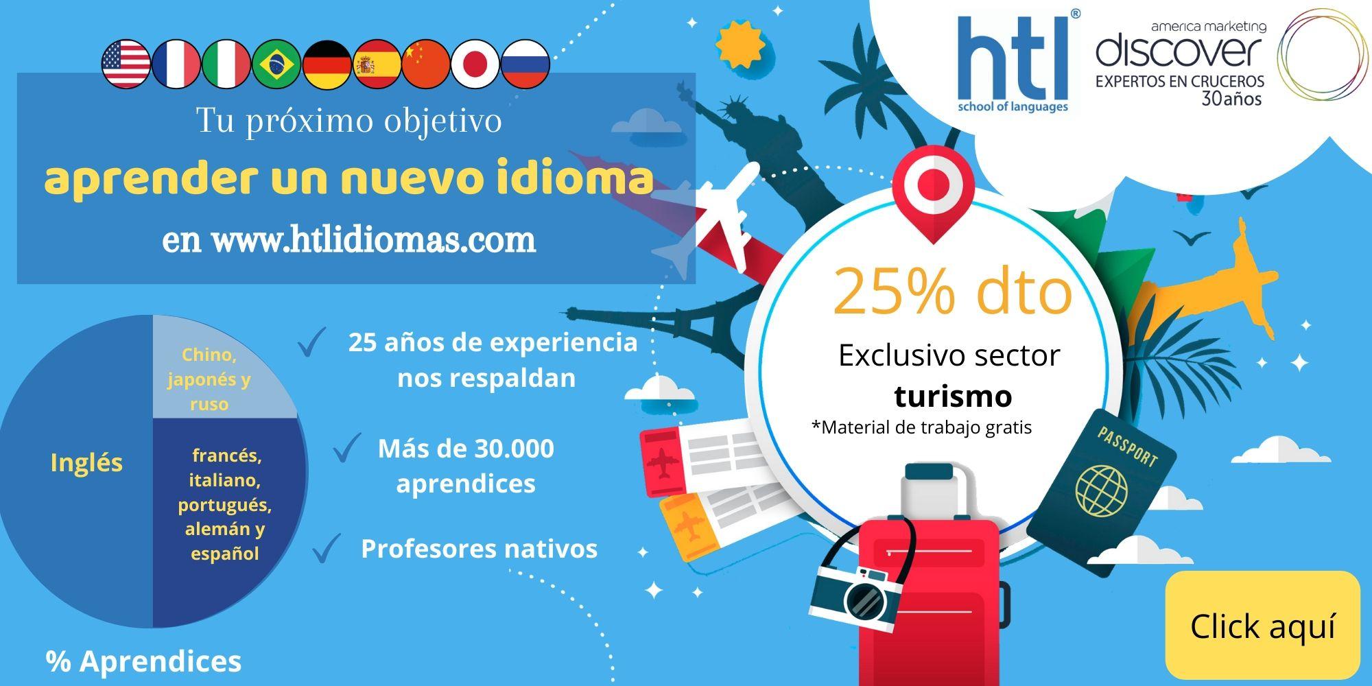 Convenio curceros, Curso de idiomas para viajar, Curso de idiomas para conocer el mundo, Curso de idiomas viajes.